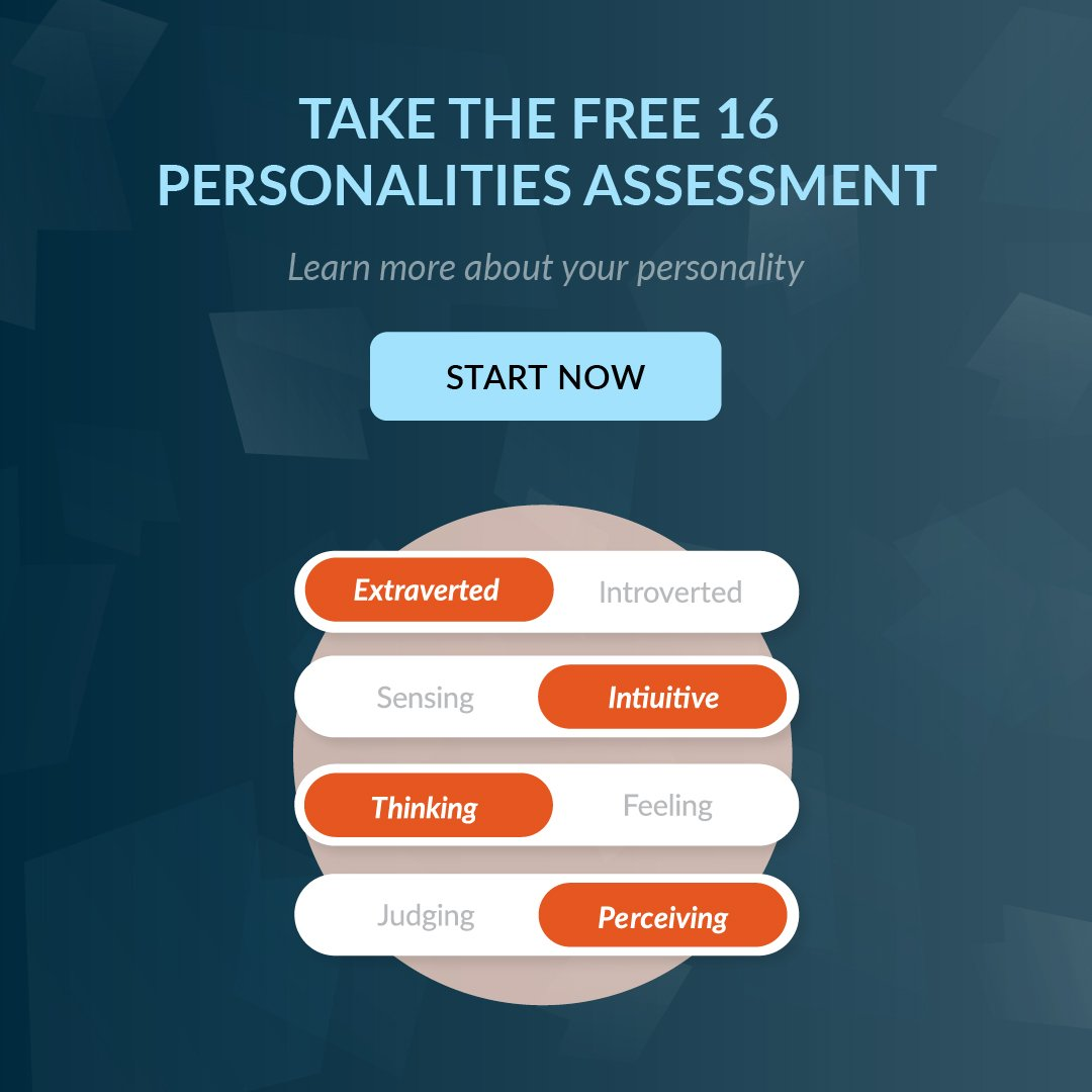 Free 16 Personalities Assessment via Forward Steps